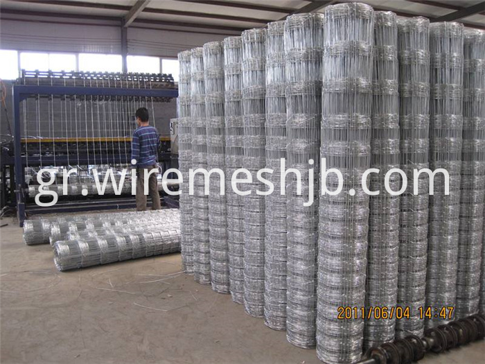 Galvanized Field Fences