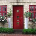 solid wood door exterior