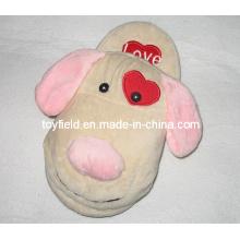 Stuffed Animals Shoes Plush Slippers (TF9716)