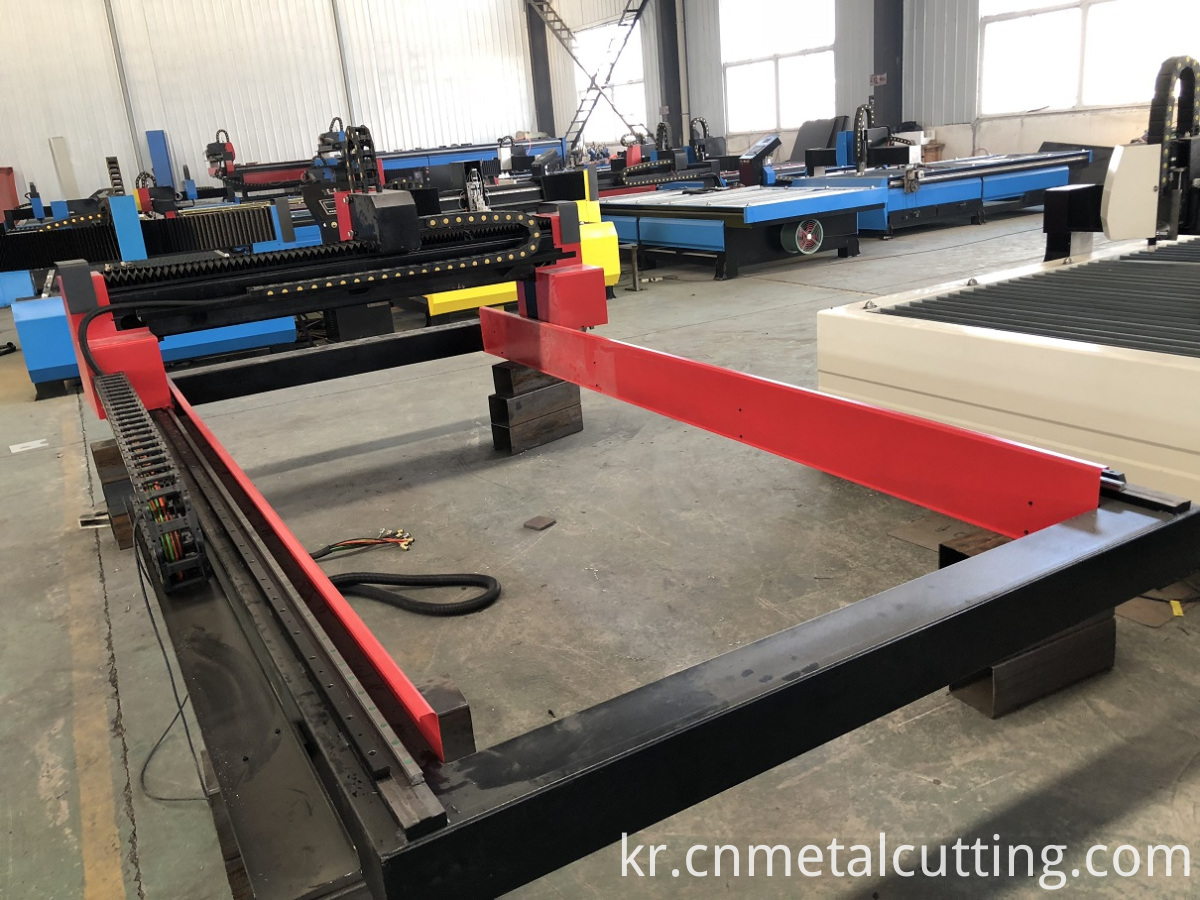 cnc gas plasma cutting machine