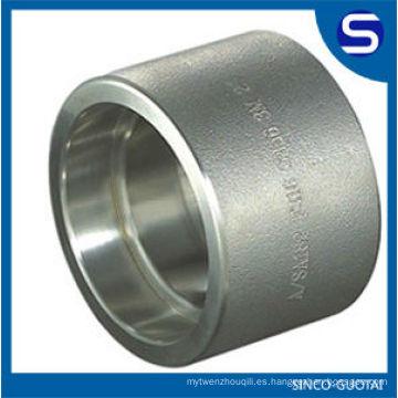 Accesorios forjados de acero inoxidable ASME B16.11 / montaje de alta presión