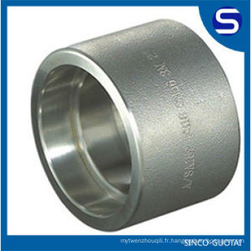 Raccords forgés d'acier inoxydable d'ASME B16.11 / raccord à haute pression