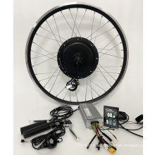 Customized electric bike kit 500w 48V with battery and LCD8H Colorful display