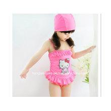 Kleine Mädchen Hallo Kitty Cartoon Badeanzug