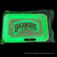 Bar Plastic Glowing Rechargeable LED Vapers Tray Used