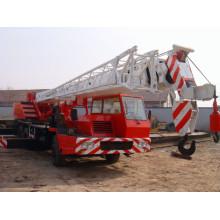 Grúa móvil de camión más grande de construcción