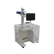 800mm Rotary 200*200Mm Automatic Fiber Laser Marking Machine For Metal Engraving 1mm