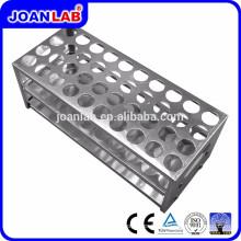 JOANLAB Aluminium Test Tube Rack pour usage de laboratoire