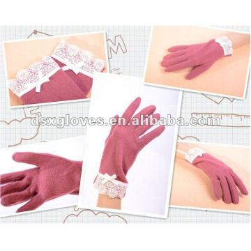 winter cashmere fashion glove