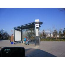 THC-93 abrigo para metal ao ar livre para ônibus