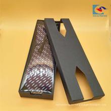 Популярный изготовленный на заказ креативный дизайн прямоугольной галстук упаковка подарочная коробка