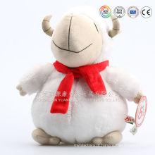 ICTI auditorias OEM e ODM fábrica mascote personalizado ovelhas brinquedo