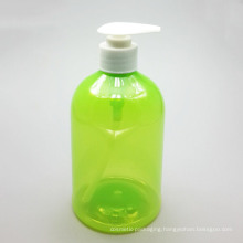 Transparent Plastic Pump Bottle (NB196)
