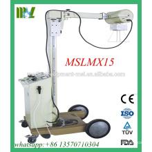 MSLMX15-M Machine à rayons X numérique mobile portable de 100mA, bon marché, mais de bonne qualité