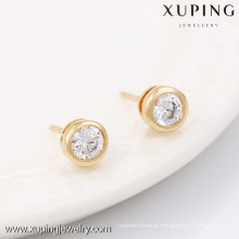 90150-Xuping Jewelry Trendy Gold Plated Classical Type Stud Earring
