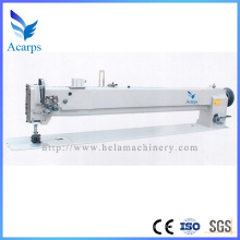 Máquina de costura de agulha dupla / de braço longo para tapete de bambu Du4420-L40