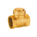Lead Brass Swing Check Valve Free dengan Seat Meat