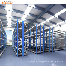 warehouse mold storage shelf rack with bins