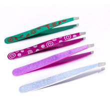 Design and Color is Portable Fashion Eyebrow Tweezers