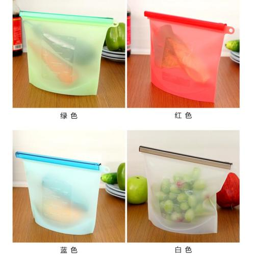 Silicone Liquid Frozen Food Fresh Bags