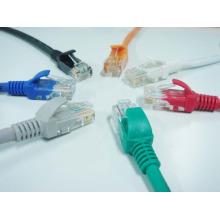 3m cabo de remendo cat6 utp, cabo de lançamento óptico 3m cat6 cabo fabricado na china