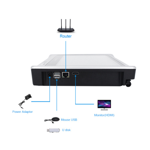 kit 4 cámaras wifi 1080P