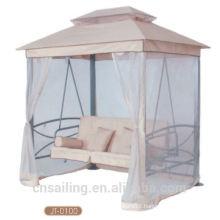 Popular Outdoor All Weather 4-seat swing chair garden