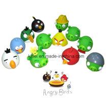 Высококачественная красочная мини-мягкая игрушка для птиц ICTI Eco-Friendly Birds