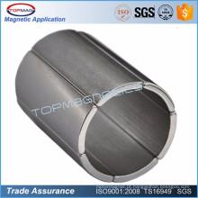 Aplicação de ímã industrial, tubo de proteção mumétal magnético macio