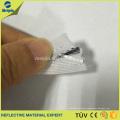 Núcleo de PVC con tubería reflectante de plata Coser bolsa / zapatos / ropa