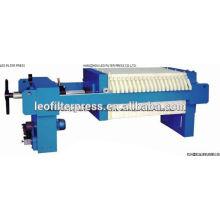 Leo Filter Press Small Filter Plate Size 400 Manual Filter Press