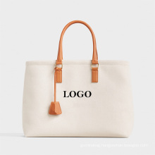 Wholesale Cheap Price Printing logo Canvas tote Bags Reusable Eco-Friendly cotton hand shopping Bag with Handle