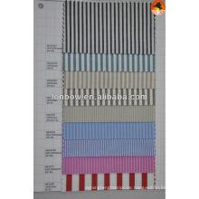 Hochwertiger Baumwoll-Polyester-Hemdenstoff aus 100% Baumwolle