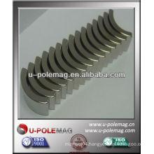 neodymium arc magnet with high performance