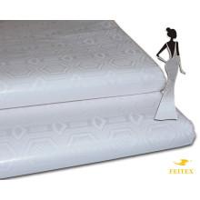 Feitex Shadda African Garment Textile Manufacture Damask Super Bazin Riche Brocade Fabric