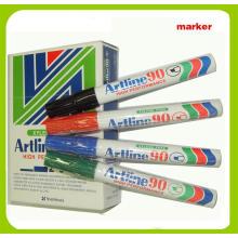 Metal Barrel Permanent Marker Pen (A90)