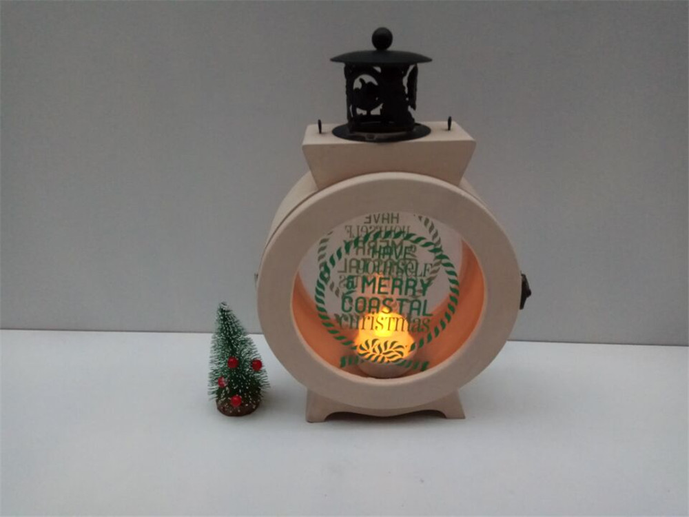 high quality safe wooden candle case
