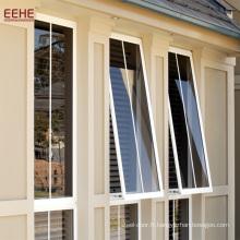 Auvent Américain Fenêtres laminées avec design de gril