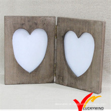 Design de livro Mesa de madeira Mesa de madeira do amor do vintage