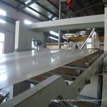 Máquina de folha de espuma de PVC profissional / placa WPC