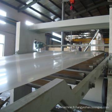 Machine professionnelle de feuille de mousse de PVC / WPC