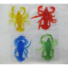 Novedad Funny Stretchy & Sticky juguete Shrimple