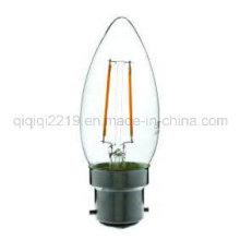 1.6W B22 C35 220V LED Filament Bulb