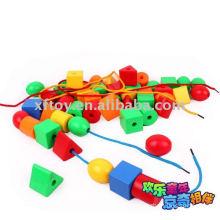 Inteligencia juguete roscado Bead juguetes