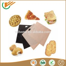 -70~ 260 centigrade high Temperature resistance coated with PTFE Fiberglass toast bag