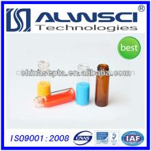 4ml Schraubgewinde klar & Bernstein Durchstechflasche 13-425 HPLC Autosampler Phiole kompatibel mit Shimadzu
