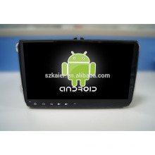 9 '' Fabrik direkt Quad-Core-Android für Auto-DVD-Player, GPS, OBD, SWC, Wifi / 3g / 4g, BT, Forvw 9 Zoll Universalmaschine
