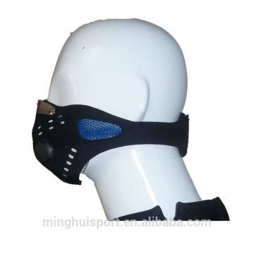 Nez de visage de protecteur de masque de néoprène en caoutchouc de Lycra de sports de Motocross de poussière