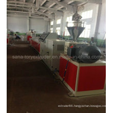 Twin-Screw Extruder Machine for PVC WPC Window and Dorr Profile