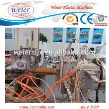 high output of WPC PE outdoor decking extruder machinery